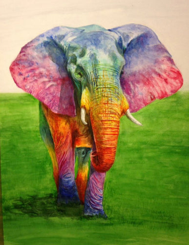 A fun beautiful elephant jigsaw puzzle  available in 500 and 1000 pieces- the perfect gift for adults