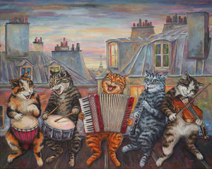 Musical cats-500 piece  jigsaw puzzle