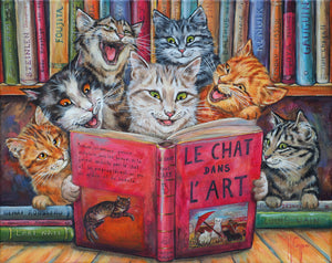 A fun Cat 500 piece  puzzle also available in different  sizes