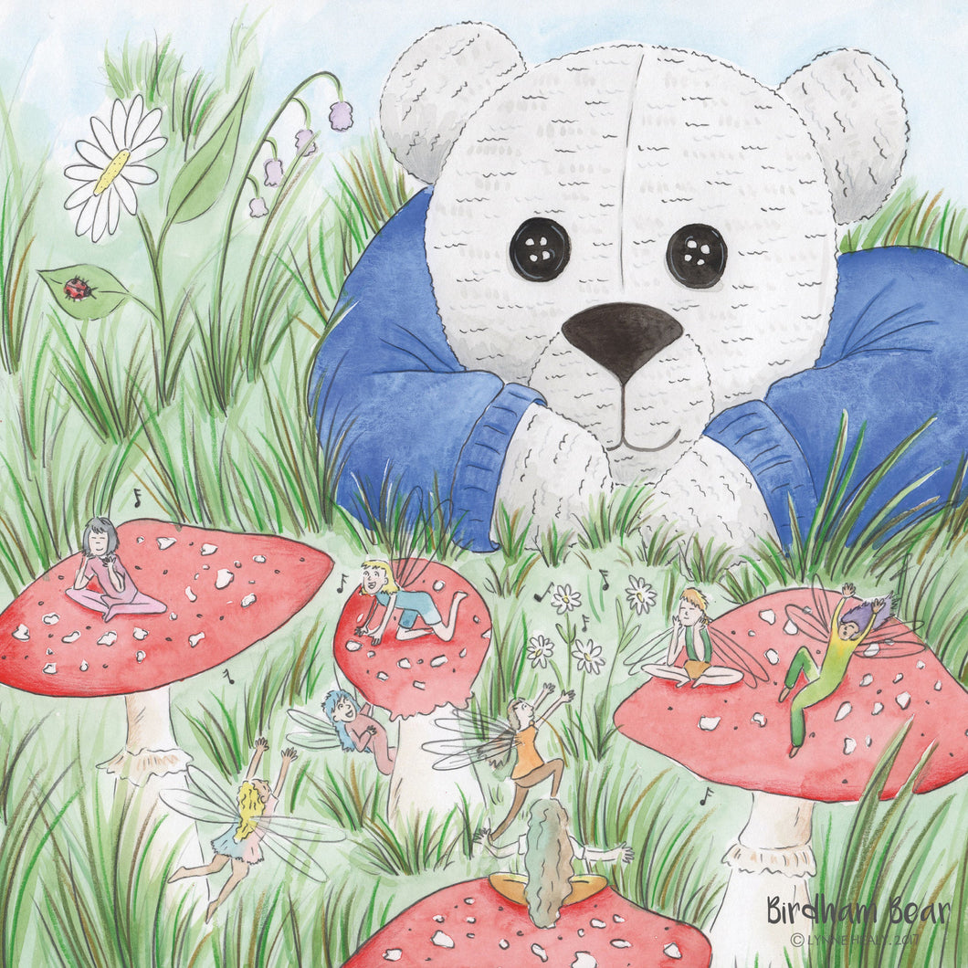 A beautiful Birdham bear jigsaw puzzle