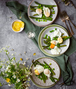 Poached eggs- a tasty puzzle design- photographed by Cath Lowe