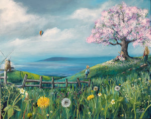 Freedom - A beautiful landscape jigsaw painted by Catherine Corfeild