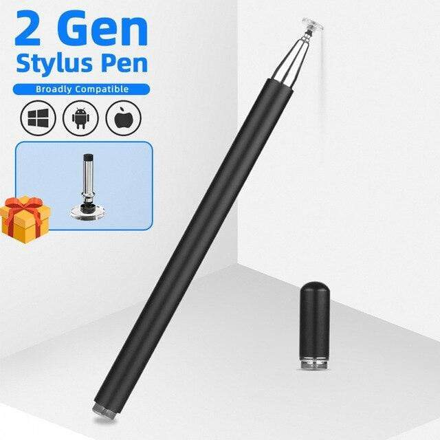 fonken official Black stylus pen / China Stylus Pen For Drawing Smartphone Touch Pens For Android Tablet