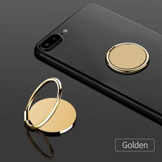 fonken official Gold ring holder Finger Ring For Phone Magnetic Holder Fold Smartphone Circle Stand Ultra