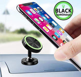 fonken official China / Luminous black stand Magnetic Car Phone Holder for Phone Car