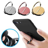 fonken official Finger Ring For Phone Magnetic Holder Fold Smartphone Circle Stand Ultra