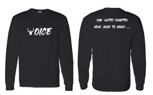 'VOICES/VOTES' Long Sleeve Tee