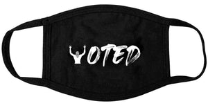 'VOTED' Face Mask