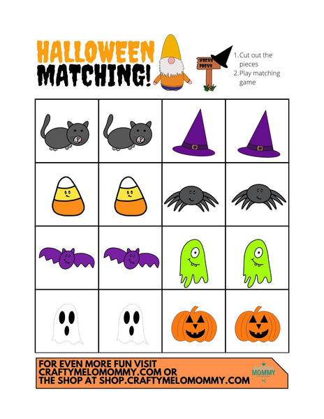 Printable Halloween Activity Pack