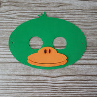 Duck dress-up pre-made mask for kids