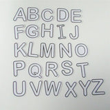 ABC stickers upper and lower case