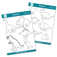 Dinosaurs Sticker Sheet Bundle