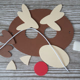 Red Nose Reindeer Dress-Up Mask