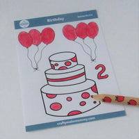 2nd Birthday Sticker Bundle