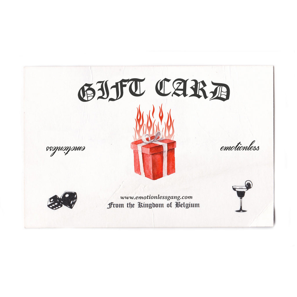 EMOTIONLESS GIFT CARD