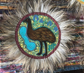 Emu Feather Art - Large - Style 2