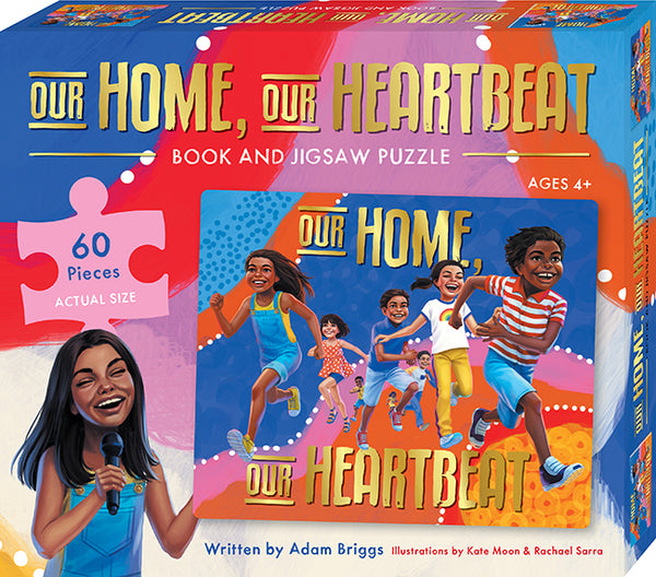 Our Home, Our Heartbeat Book & Puzzle Set