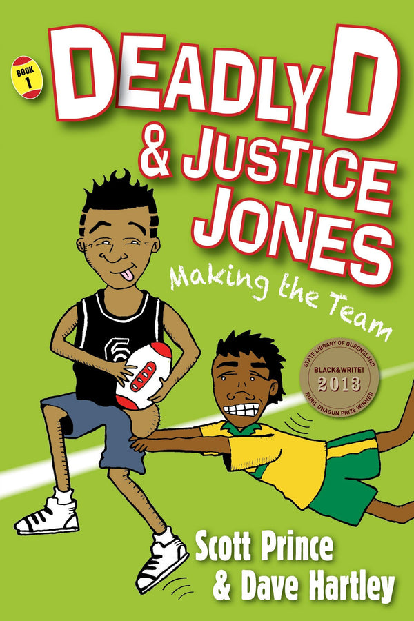 Deadly D & Justice Jones: Making the Team