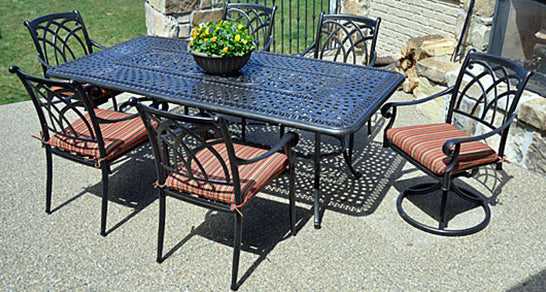 Aluminum Furniture - Bella