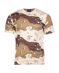 6-color Desert Camo T-Shirt