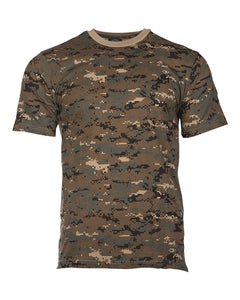 Digital Woodland Camo T-Shirt