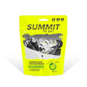 Summit to Eat, Morning Oats with Rasberry