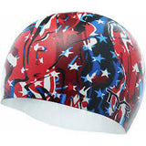 Fire Cracker Swim Cap