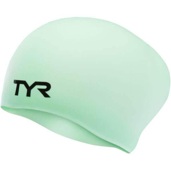 TYR Long Hair Wrinkle-Free Swim Cap