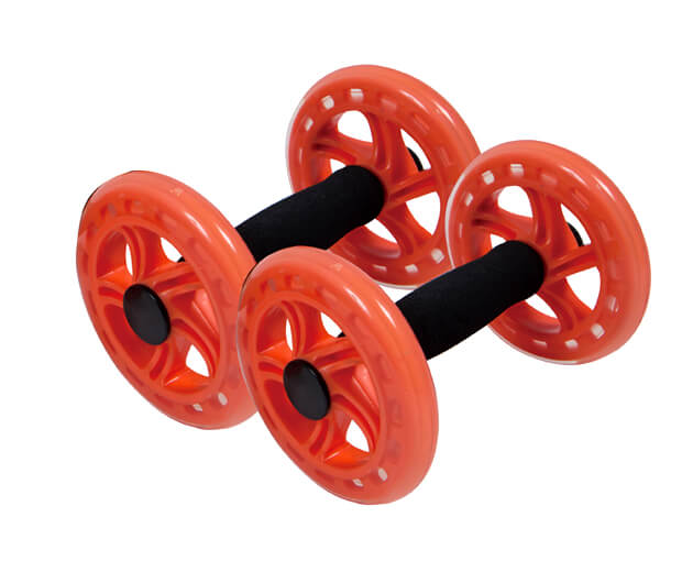 Dual Exercise Wheel