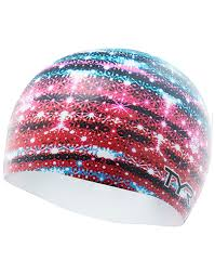 USA Glitz Swim Cap