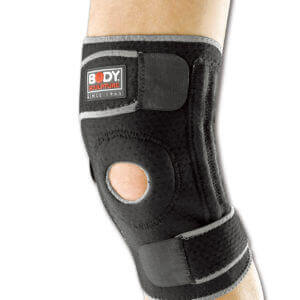 Knee Support Open Patella Reinforced With Terry Cloth