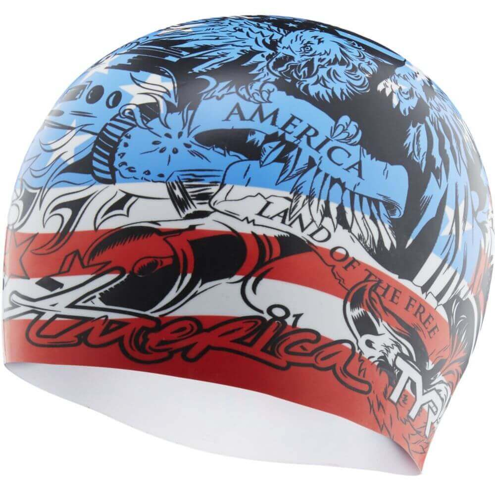 TYR Home Of The Brave Swim Cap