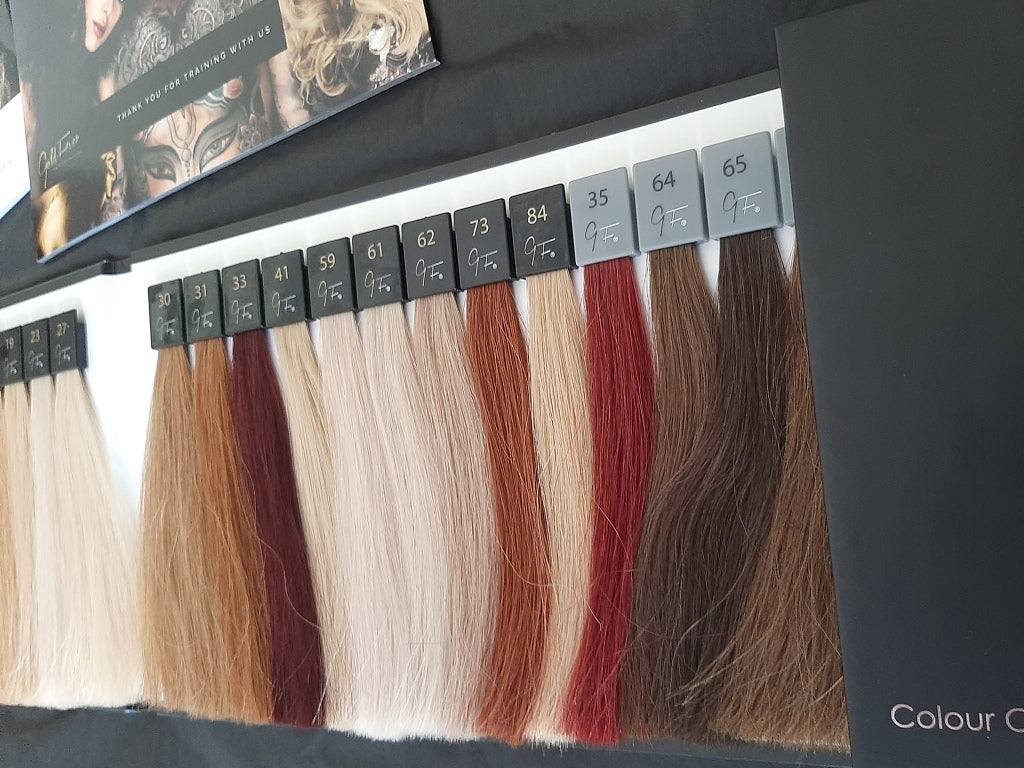 Gold Fever UAE Hair Extensions Colours
