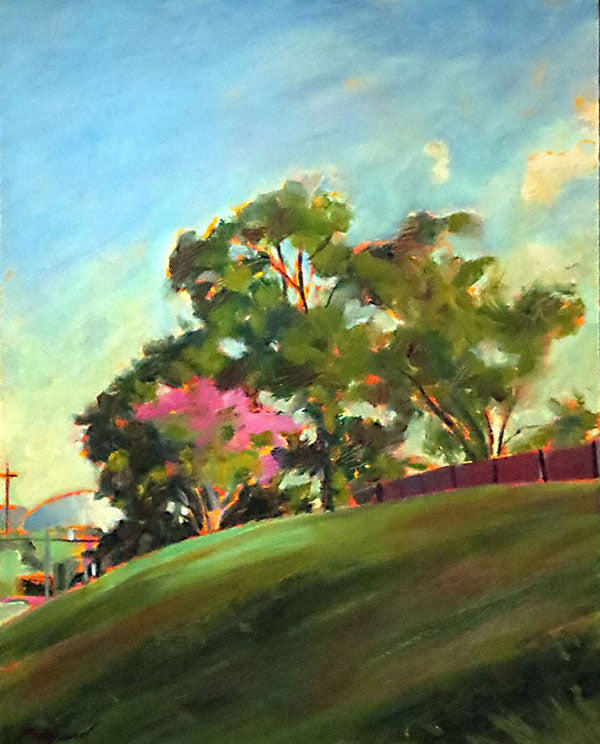Capitol Hill Clinton, oil on canvas - PaulFayard