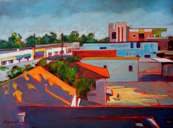 Fondren Morning, oil on canvas - PaulFayard
