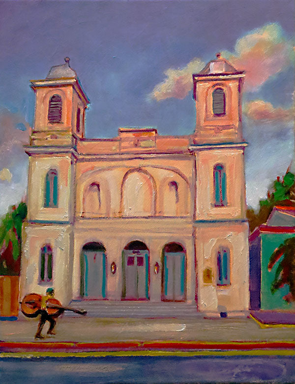 "Marigny Opera House, oil on canvas, 18"" x 14"" - PaulFayard"