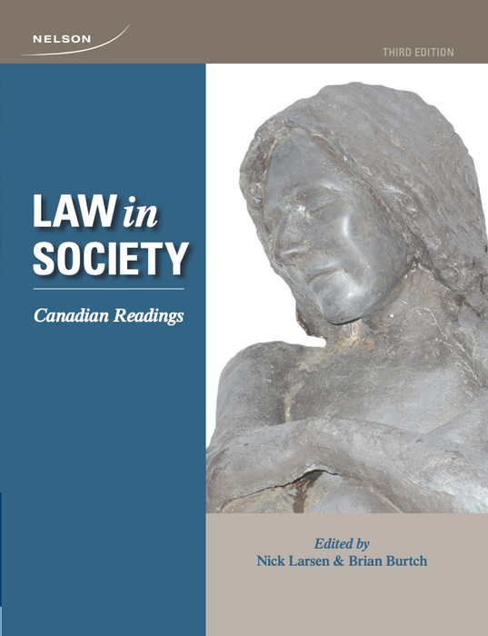 Law and Society: Canadian Readings, 3rd Edition