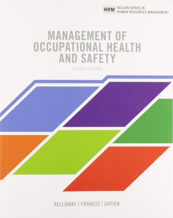Management of Occupational Health and Safety, 8th Edition