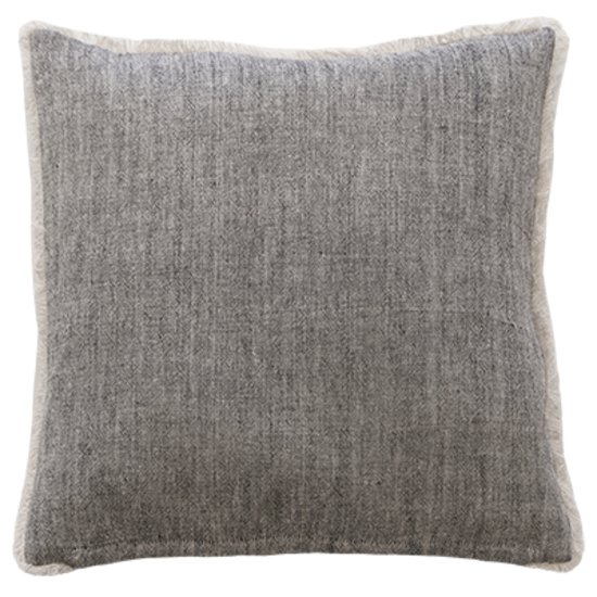 Keaton Cushion - Black/Natural