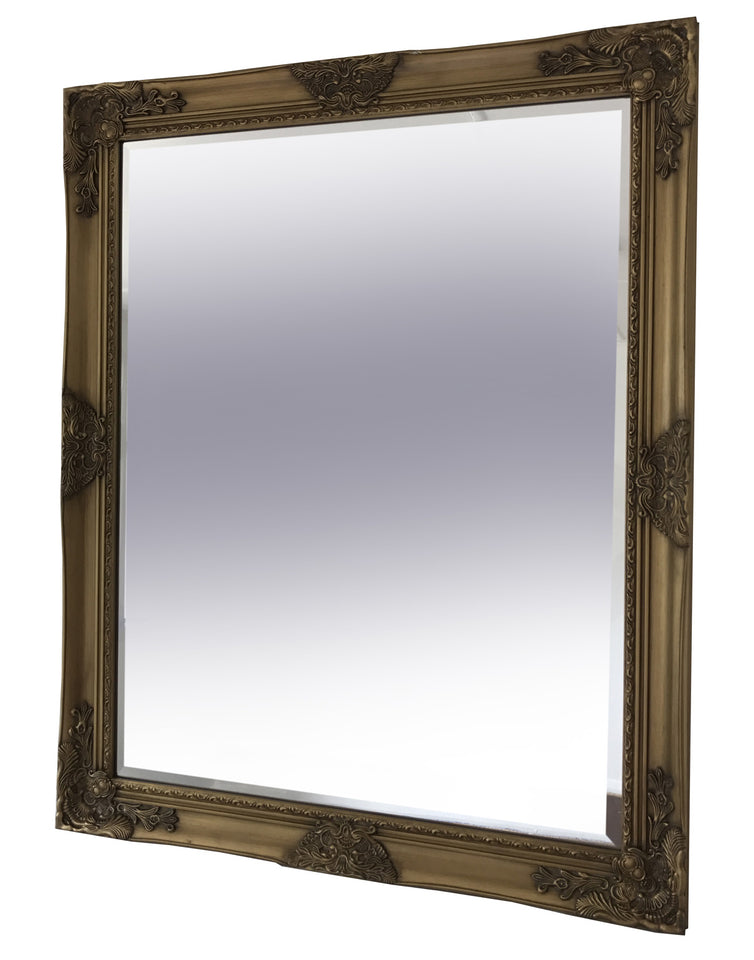 Antique Gold Frame Wall Mirror