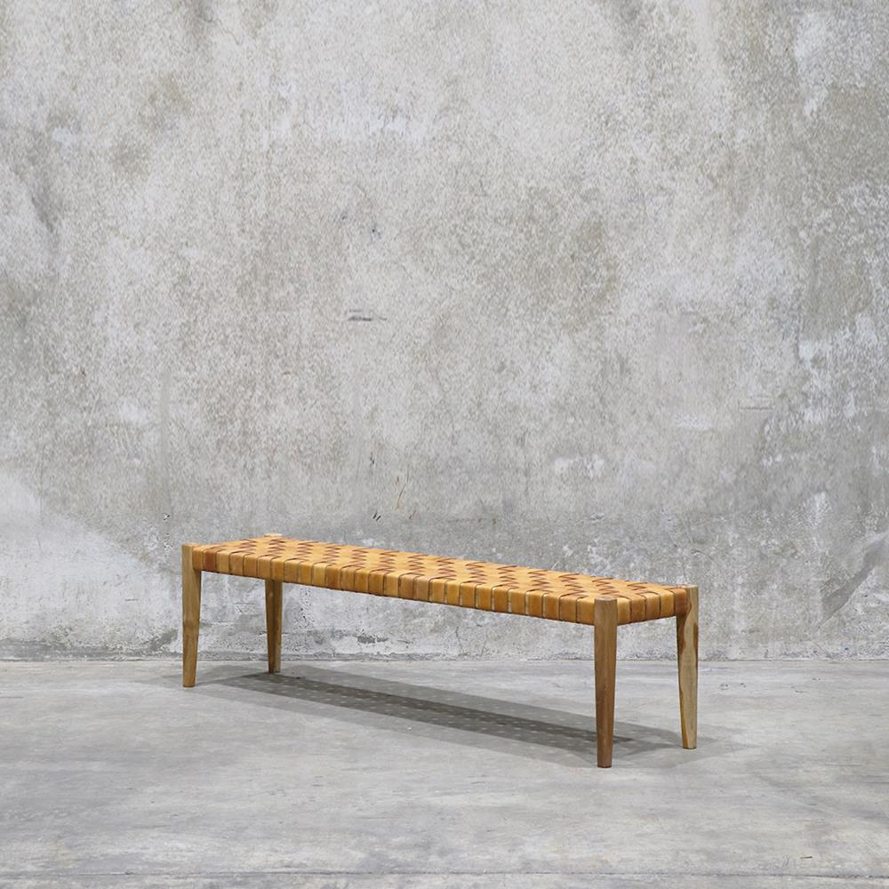 Hayes Bench 180cm Tan