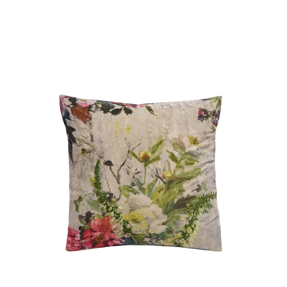 Sari Printed Cushion - Classic Bouquet