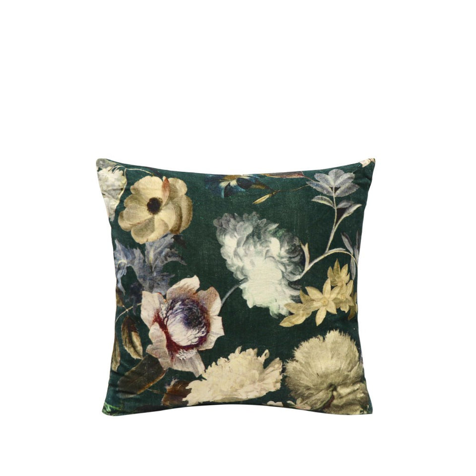 Sari Printed Cushion - Clematis Due September