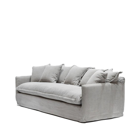 Lotus Slipcover Sofa - Cement, OUT OF STOCK