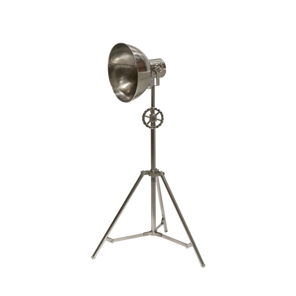 Chandri Metal Lamp - Nickel