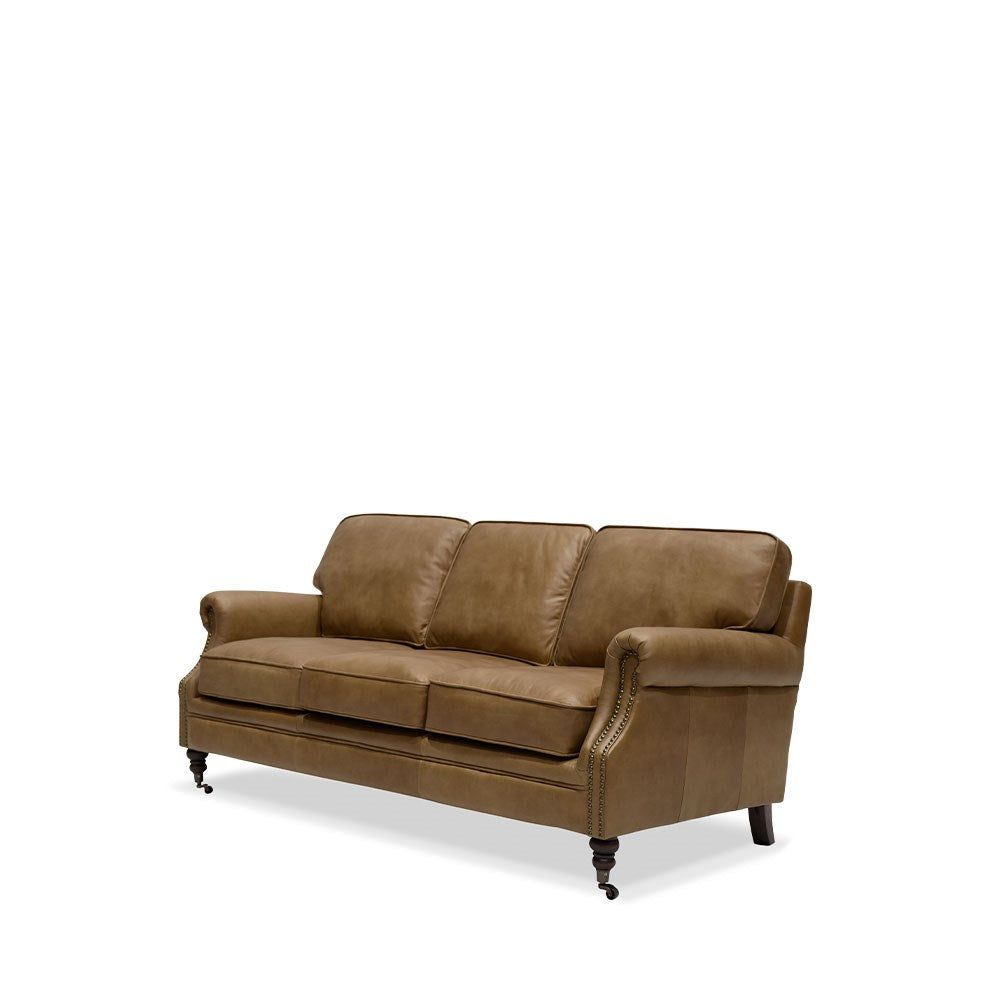 Brunswick Sofa 3 Seater Chestnut