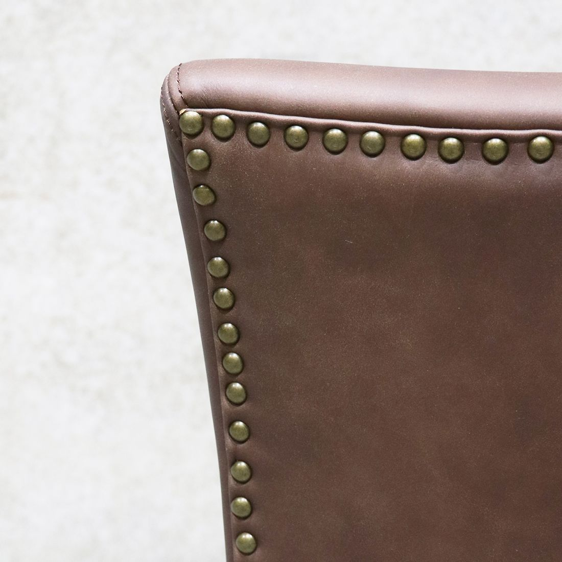 Crane Dining Chair Leather - Brown