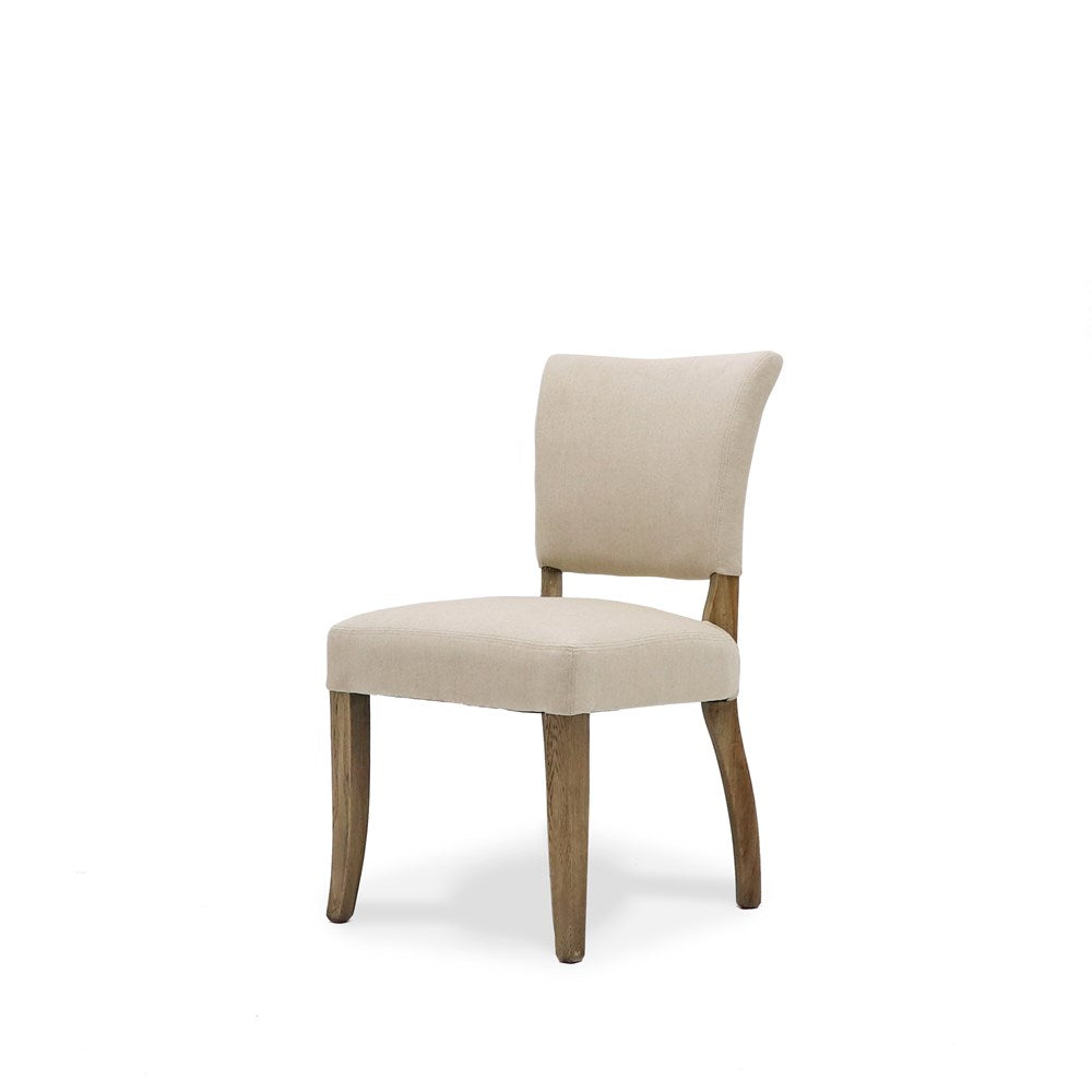 Crane Dining Chair Linen - Cream