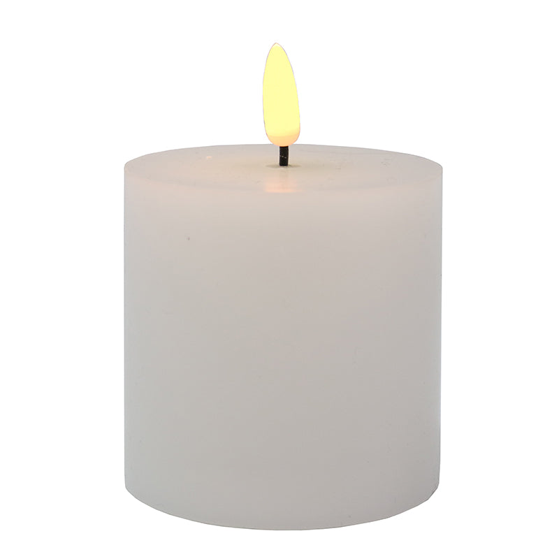 LED Battery Pillar Candle 7.5×7.5