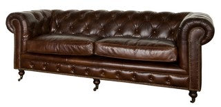 HAMPTON COURT 3 SEATER VINTAGE CIGAR